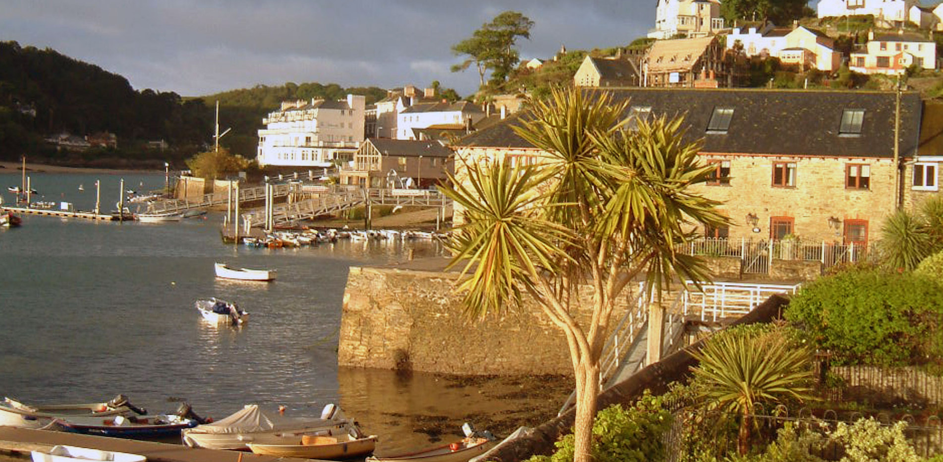 View towards Salcombe from the cottage