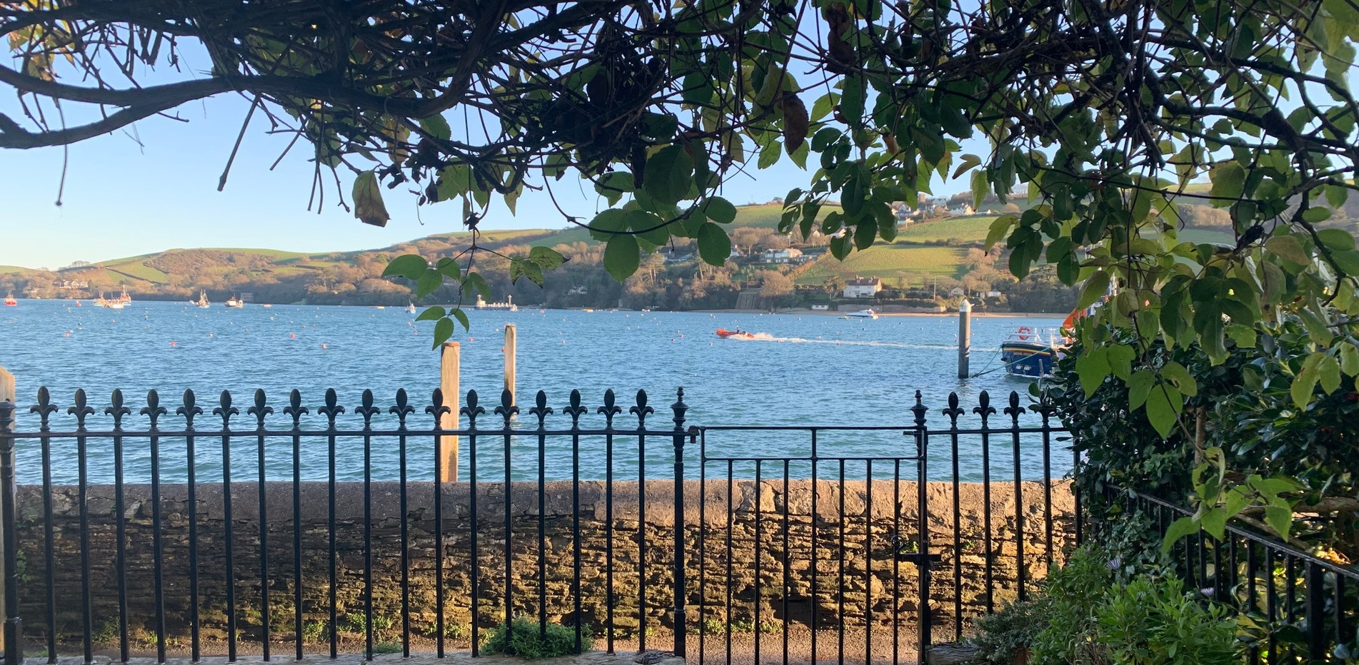 Merlins racing off Bolt Head, Salcombe, Devon