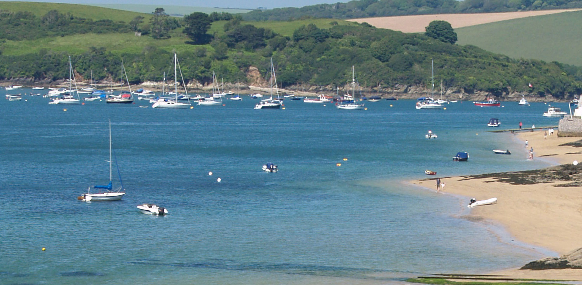 From Small's Beach, Salcombe